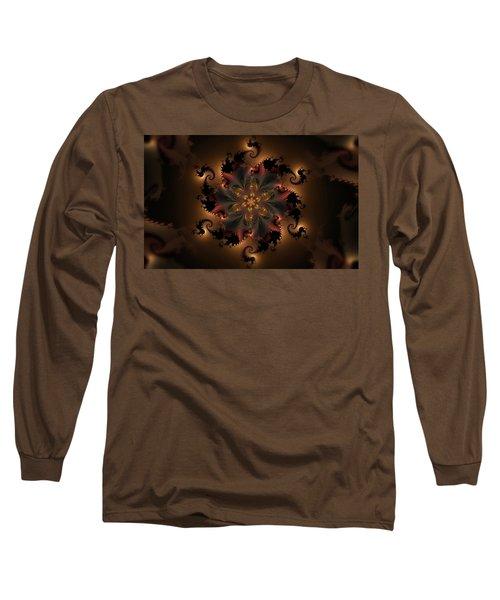 Dragon Flower Long Sleeve T-Shirt