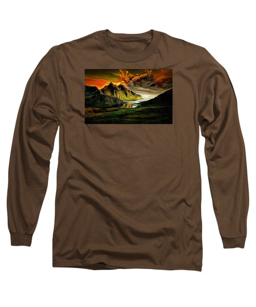 Dramatic Skies Long Sleeve T-Shirt by Mario Carini