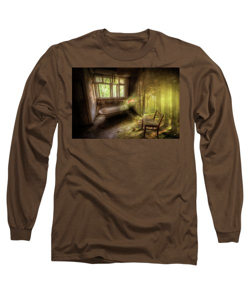 Dream Bathtime Long Sleeve T-Shirt by Nathan Wright