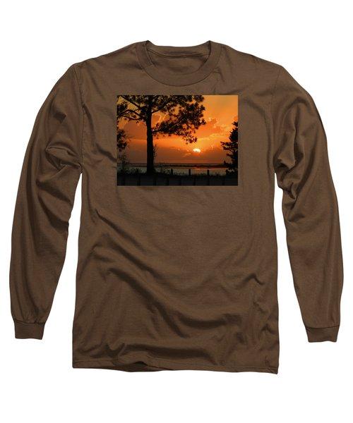 Dream Big Long Sleeve T-Shirt by Laura Ragland