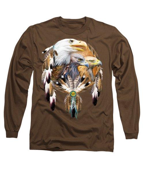 Dream Catcher - Three Eagles Long Sleeve T-Shirt