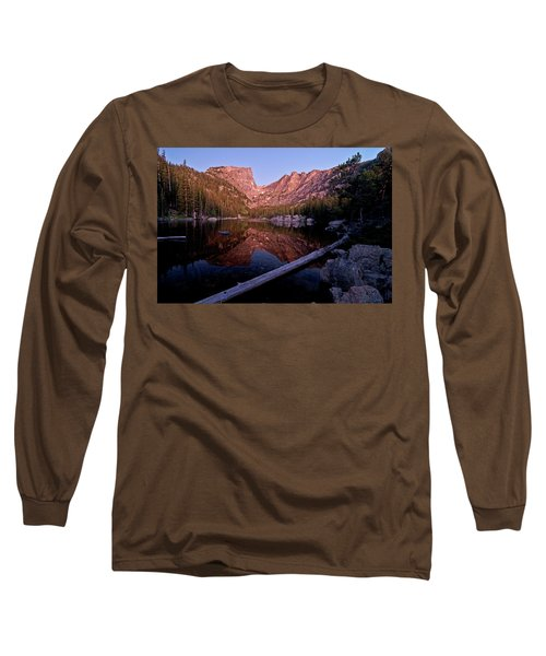 Long Sleeve T-Shirt featuring the photograph Dream Lake by Gary Lengyel