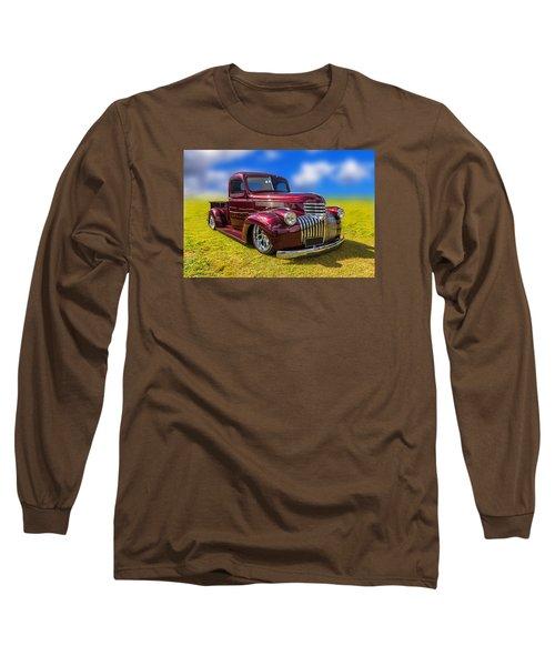 Dream Truck Long Sleeve T-Shirt by Keith Hawley