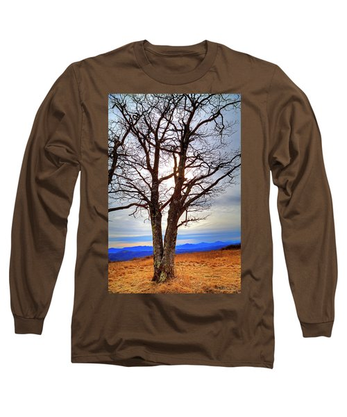Dreamcatcher Long Sleeve T-Shirt by Dale R Carlson