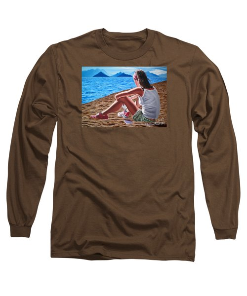 Dreams During The Day- Suenos Durante El Dia Long Sleeve T-Shirt