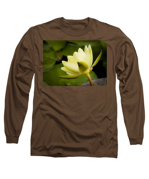 Dreamy Water Lilly Long Sleeve T-Shirt