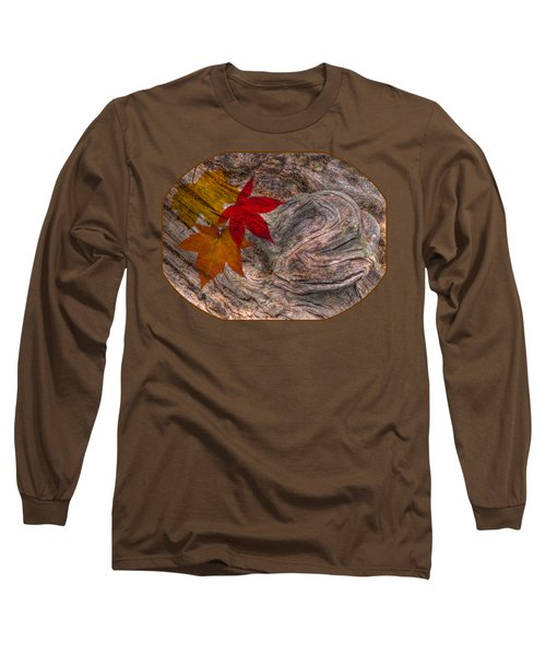 Drifting Autumn Leaves Long Sleeve T-Shirt