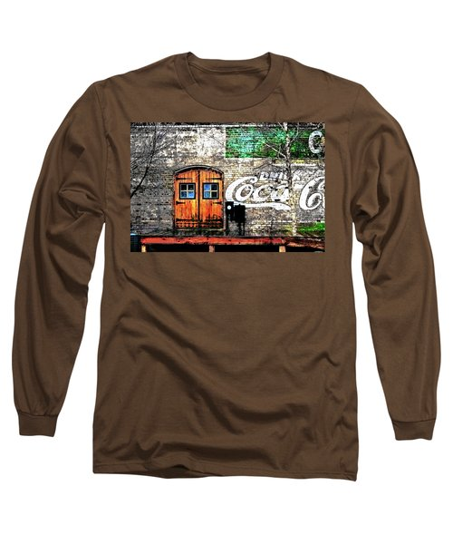 Long Sleeve T-Shirt featuring the photograph Drink Coca Cola  by Gray  Artus