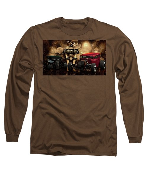 Long Sleeve T-Shirt featuring the photograph  Drive In by Louis Ferreira