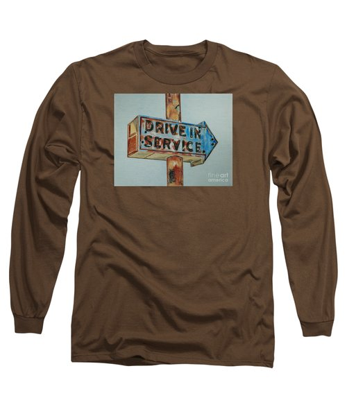 Drive In Service Long Sleeve T-Shirt