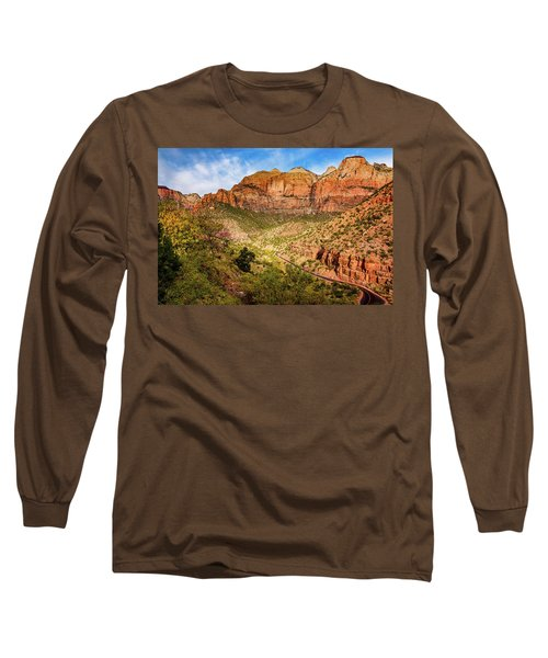 Driving Into Zion Long Sleeve T-Shirt