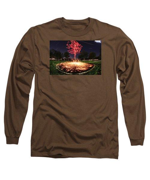 Drone Tree 1 Long Sleeve T-Shirt