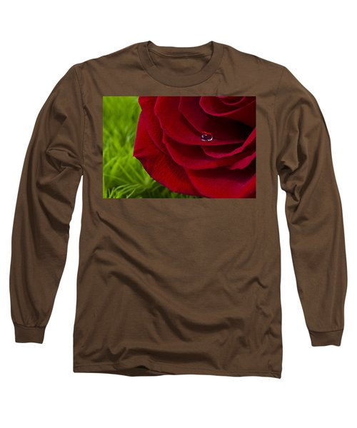 Drop On A Rose Long Sleeve T-Shirt