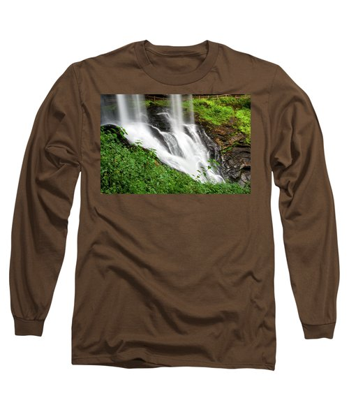 Long Sleeve T-Shirt featuring the photograph Dry Falls by Allen Carroll