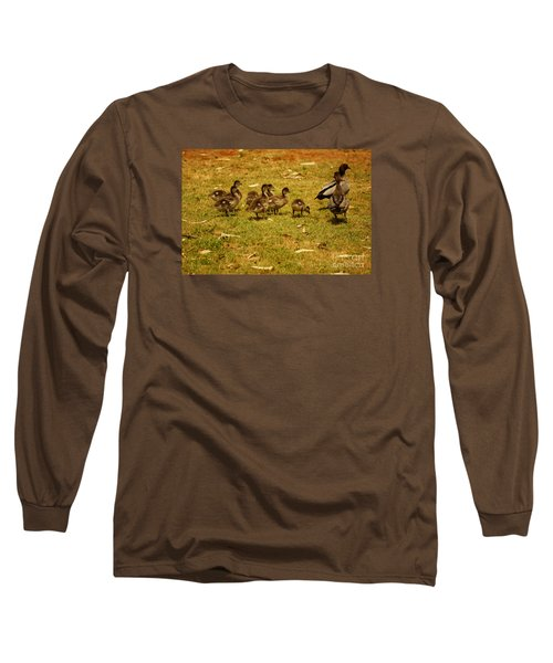 Duck Family I Long Sleeve T-Shirt