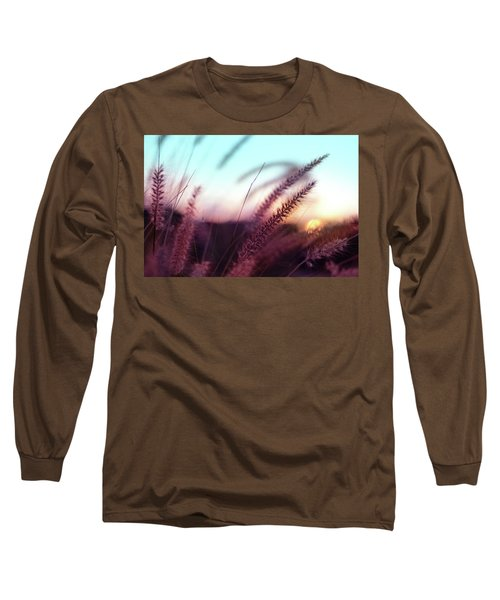 Long Sleeve T-Shirt featuring the photograph Dune Scape by Laura Fasulo