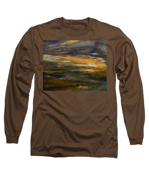 Dusk At The River Long Sleeve T-Shirt