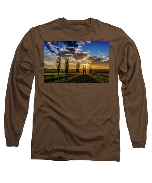 Dutch Moutains At Sunset Long Sleeve T-Shirt