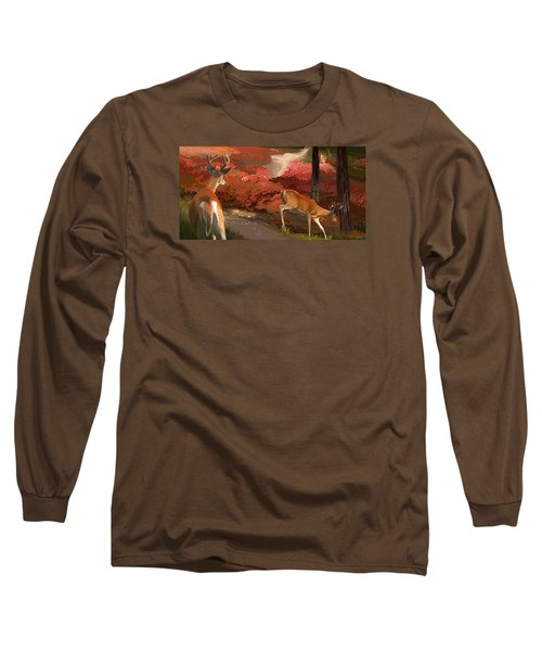 Early Fall Whitetail Long Sleeve T-Shirt