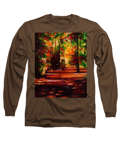 Early Monday Morning Long Sleeve T-Shirt by Emery Franklin