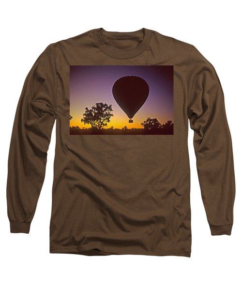 Early Morning Balloon Ride Long Sleeve T-Shirt