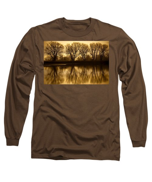 Early Morning Reflections Long Sleeve T-Shirt