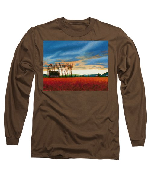 Early Spring, Skagit Valley Long Sleeve T-Shirt