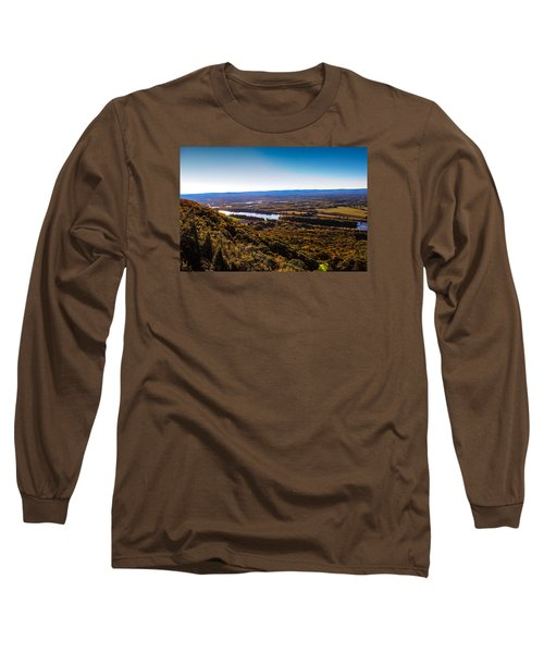 Easthampton View From Summit House Long Sleeve T-Shirt