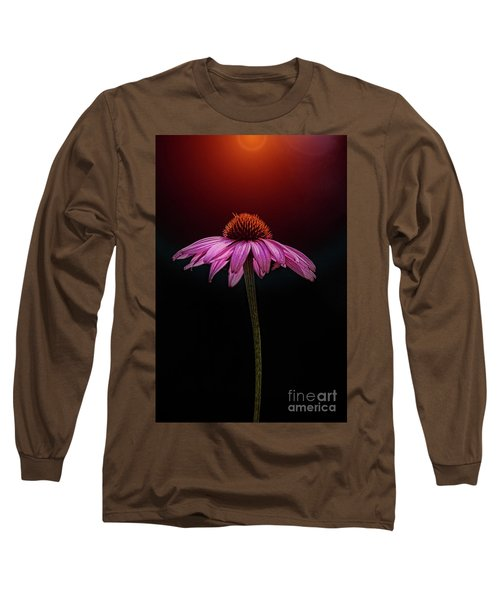 Echinacea And Sun Long Sleeve T-Shirt