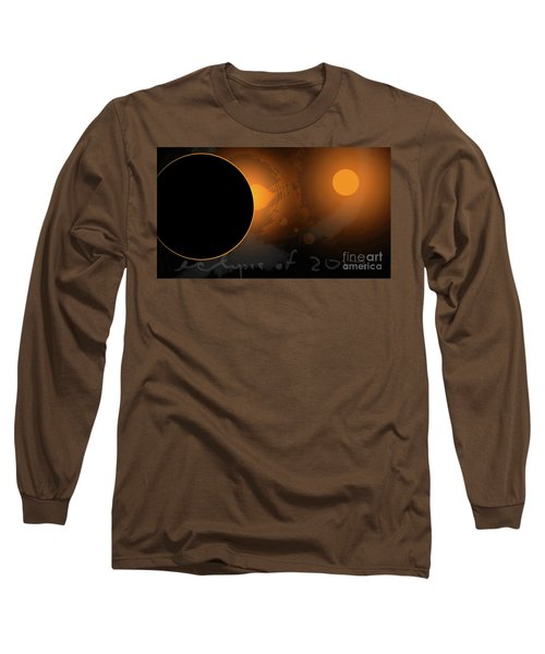 Eclipse Of 2017 W Long Sleeve T-Shirt