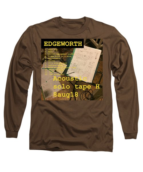 Edgeworth Acoustic Solo Tape H Long Sleeve T-Shirt