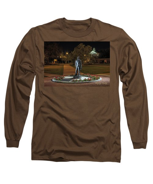 Long Sleeve T-Shirt featuring the photograph Edwin Stephens At Night by Gregory Daley  PPSA