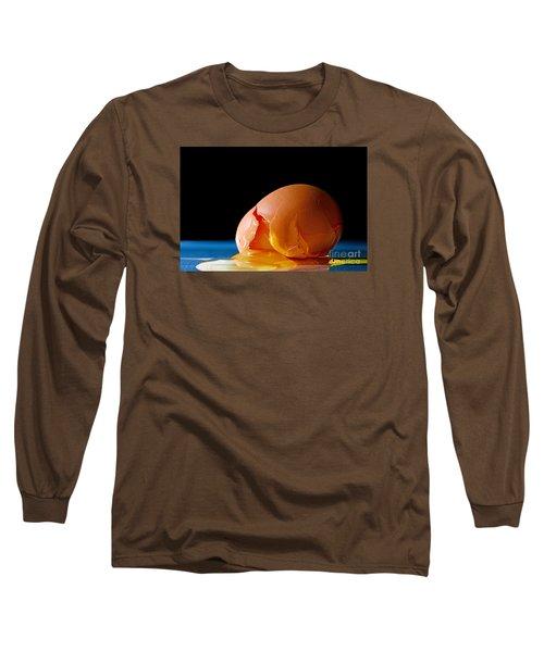 Egg Cracked Long Sleeve T-Shirt