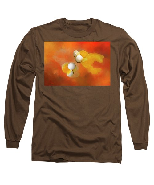 Long Sleeve T-Shirt featuring the photograph Eggs by Carolyn Marshall