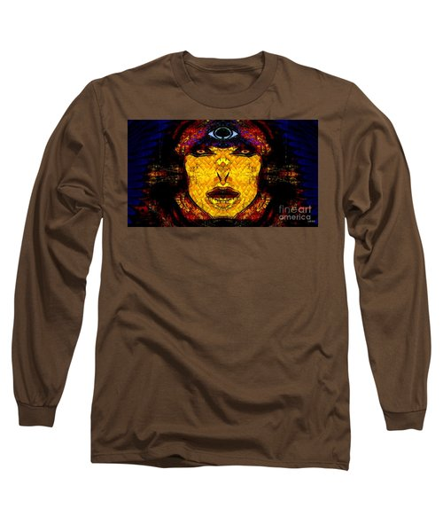 Egypt Goddess  Raet Aka Raettawy Long Sleeve T-Shirt