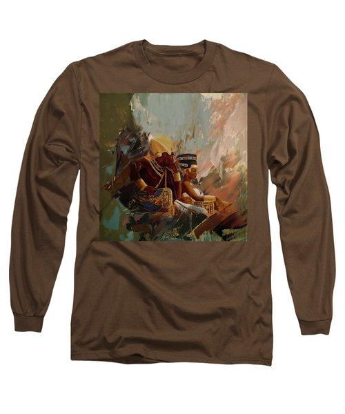 Egyptian Culture 44b Long Sleeve T-Shirt