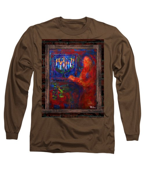 Eighth Day Of Chanukah Long Sleeve T-Shirt
