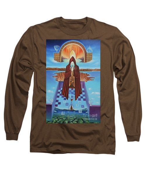 El Camino De La Luz Long Sleeve T-Shirt by Jorge L Martinez Camilleri