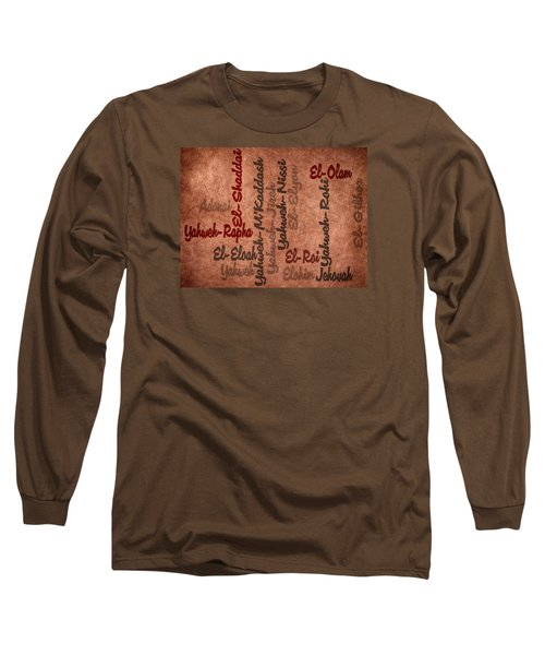 Long Sleeve T-Shirt featuring the digital art El-olam by Angelina Vick