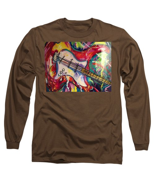 Electric Fusion  Long Sleeve T-Shirt by Heather Roddy