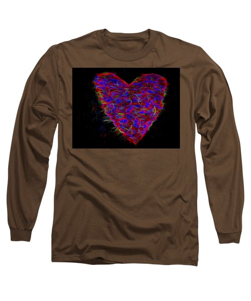 Electric Heart Long Sleeve T-Shirt