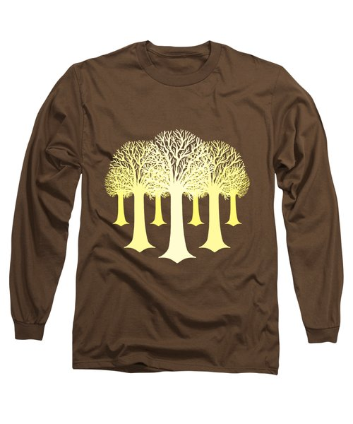 Electricitrees Long Sleeve T-Shirt by Freshinkstain