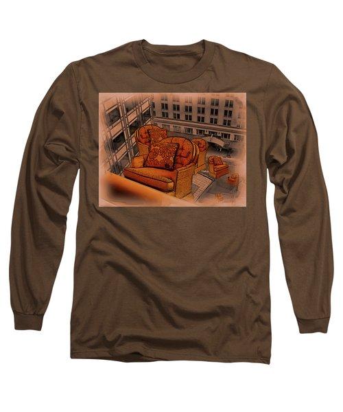 Elevator Down Long Sleeve T-Shirt