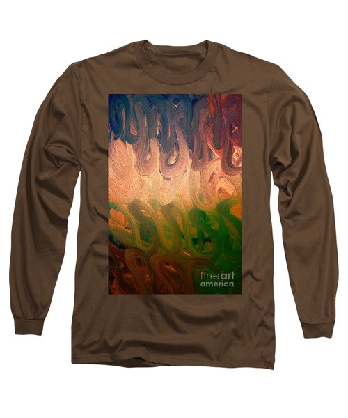 Emotion Acrylic Abstract Long Sleeve T-Shirt
