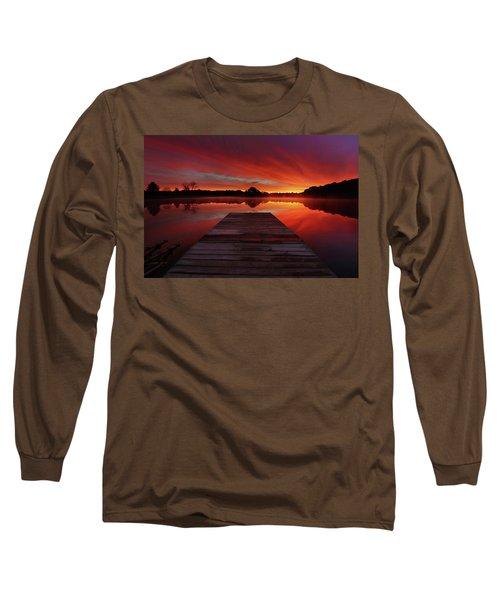 Endless Possibilities Long Sleeve T-Shirt by Rob Blair