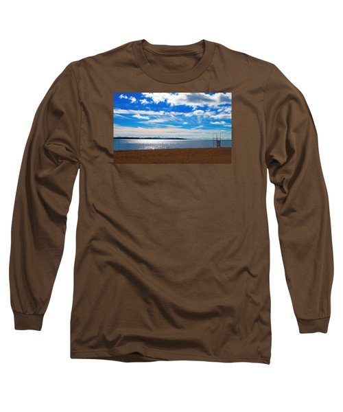 Long Sleeve T-Shirt featuring the photograph Endless Sky by Valentino Visentini