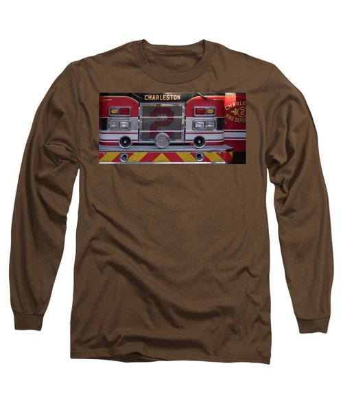Engine Number Two Long Sleeve T-Shirt by Patricia Schaefer