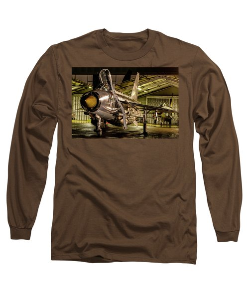 English Electric Lightning Qra Shed Long Sleeve T-Shirt