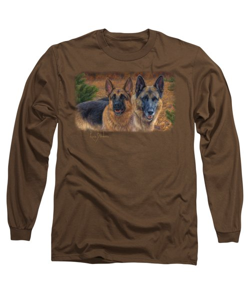 Enjoying The Fall Long Sleeve T-Shirt by Lucie Bilodeau