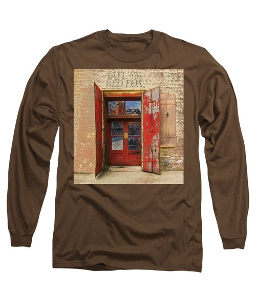 Entry Into The Past Long Sleeve T-Shirt by Jeff Burgess
